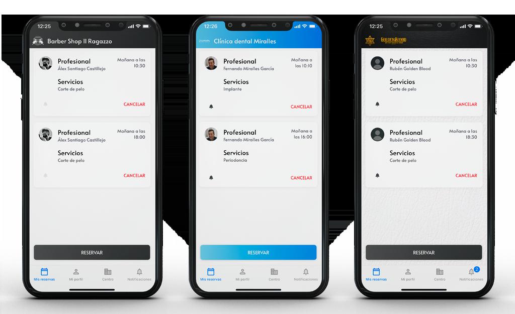 aplicación personalizada
